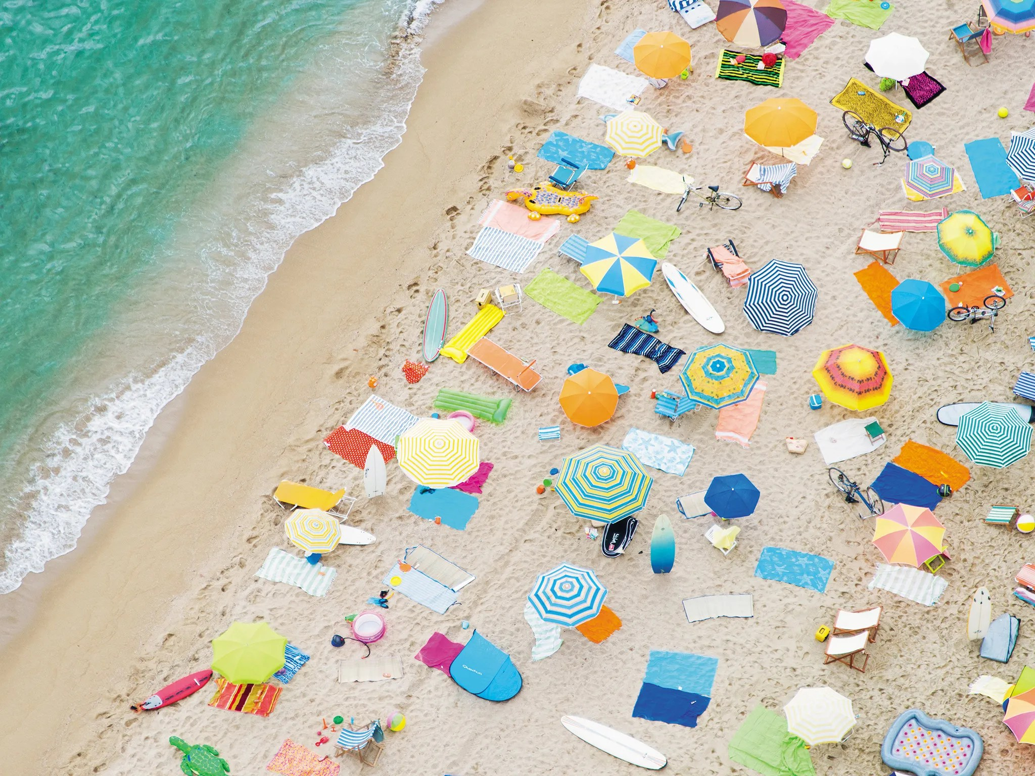 Beach Prints 7 Beaches That Look Even More Beautiful From The Sky