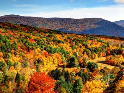 Pure Michigan Fall Wallpaper The 10 Best Fall Hiking Trails In The U S Cond 233 Nast