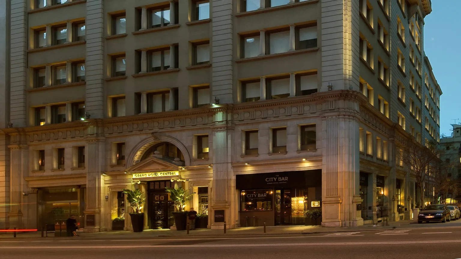 Grand Hotel Central Barcelona Grand Hotel Central - Hotel Review | Condé Nast Traveler