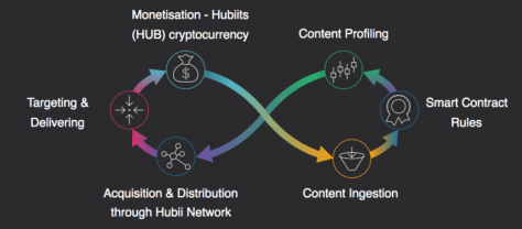 Hubii Network value flow