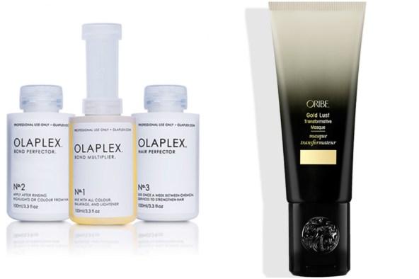 En perfekt kombo för hösttrötta hår...Olaplex och Oribe Gold Lust Masque.