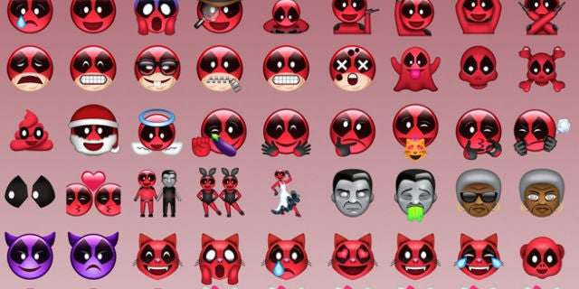 Emoticons Cute Wallpaper Deadpool Movie Twitter Issues Statement On Deadpool Emoji