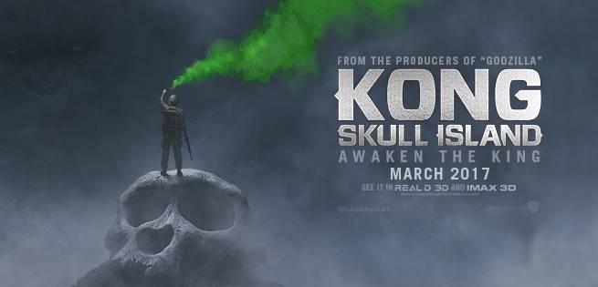 Jordan Logo 3d Wallpaper The King Awakens In New Kong Skull Island Poster