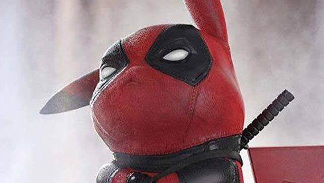Wallpaper Iphone 5 Cartoon Ryan Reynolds Shares Amazing Pikachu And Deadpool Mashup Art