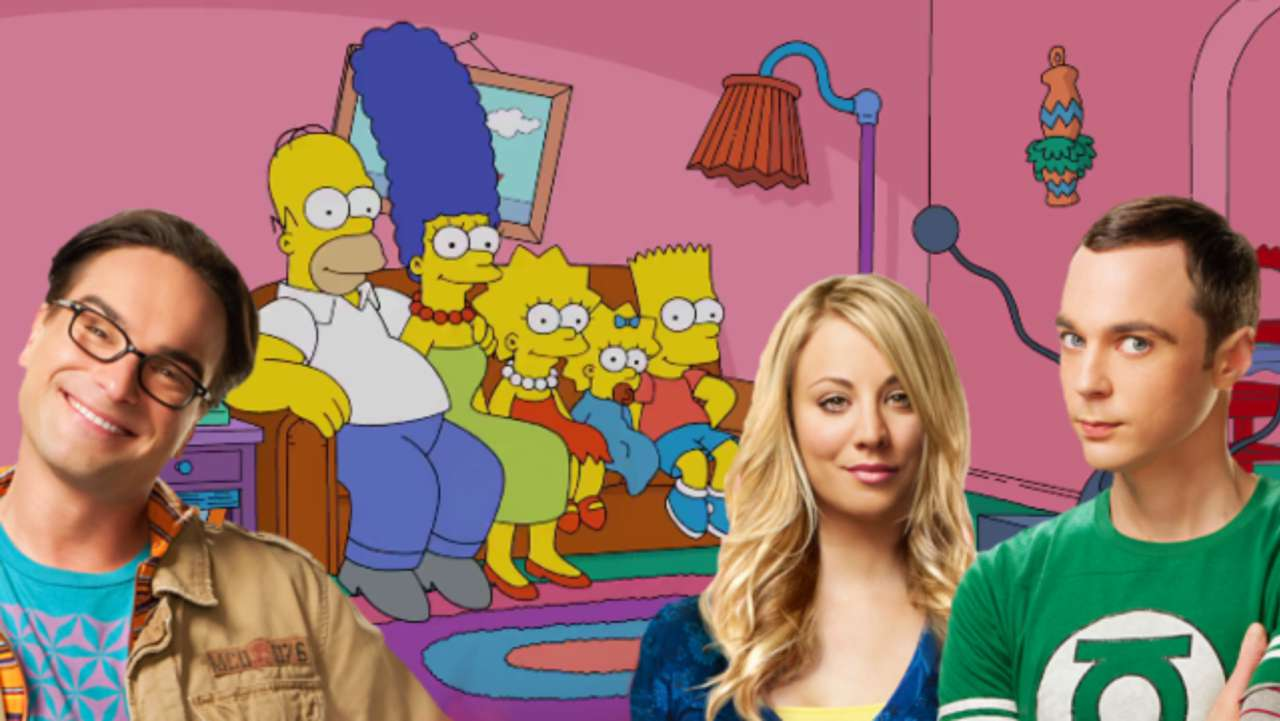 Big Bang Couch Gag The Simpsons Couch Gag Parodies The Big Bang Theory