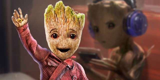 Baby Groot Guardians Of The Galaxy Tween Groot, Leaner Baby Groot Concept Art For Guardians