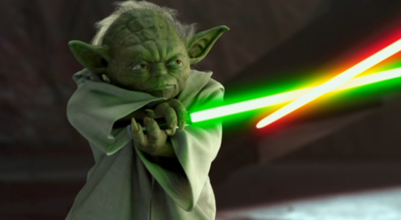 Lego Star Wars Wallpaper Hd Yoda Green Lightsaber Www Pixshark Com Images