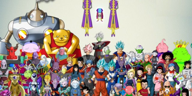 Power Rangers 3d Wallpaper This Dragon Ball Super Chart Breaks Down The Tournament