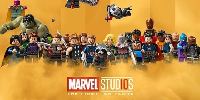 Lego Star Wars Wallpaper Hd Marvel Cinematic Universe Gets A 10th Anniversary Lego Poster