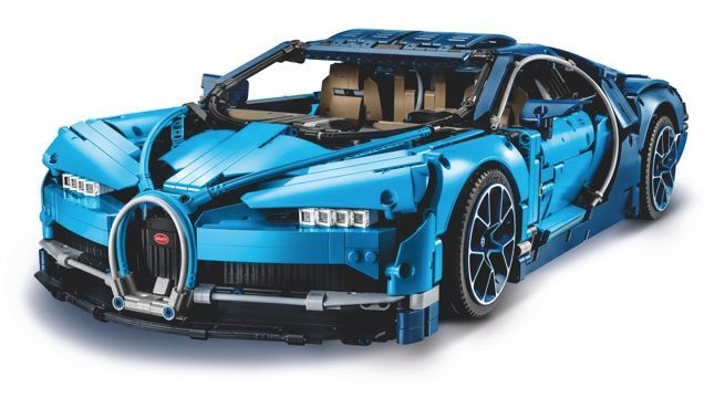 Buckle Up For The 3599-Piece LEGO Technic Bugatti Chiron