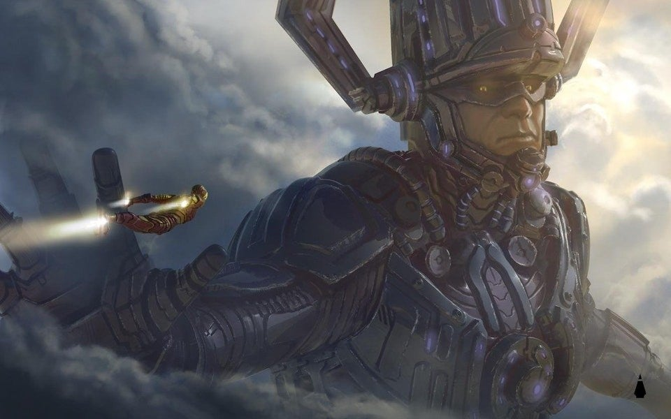3d Animated Snake Live Wallpaper Fan Creates Awesome Concept Art Of Galactus In The Marvel