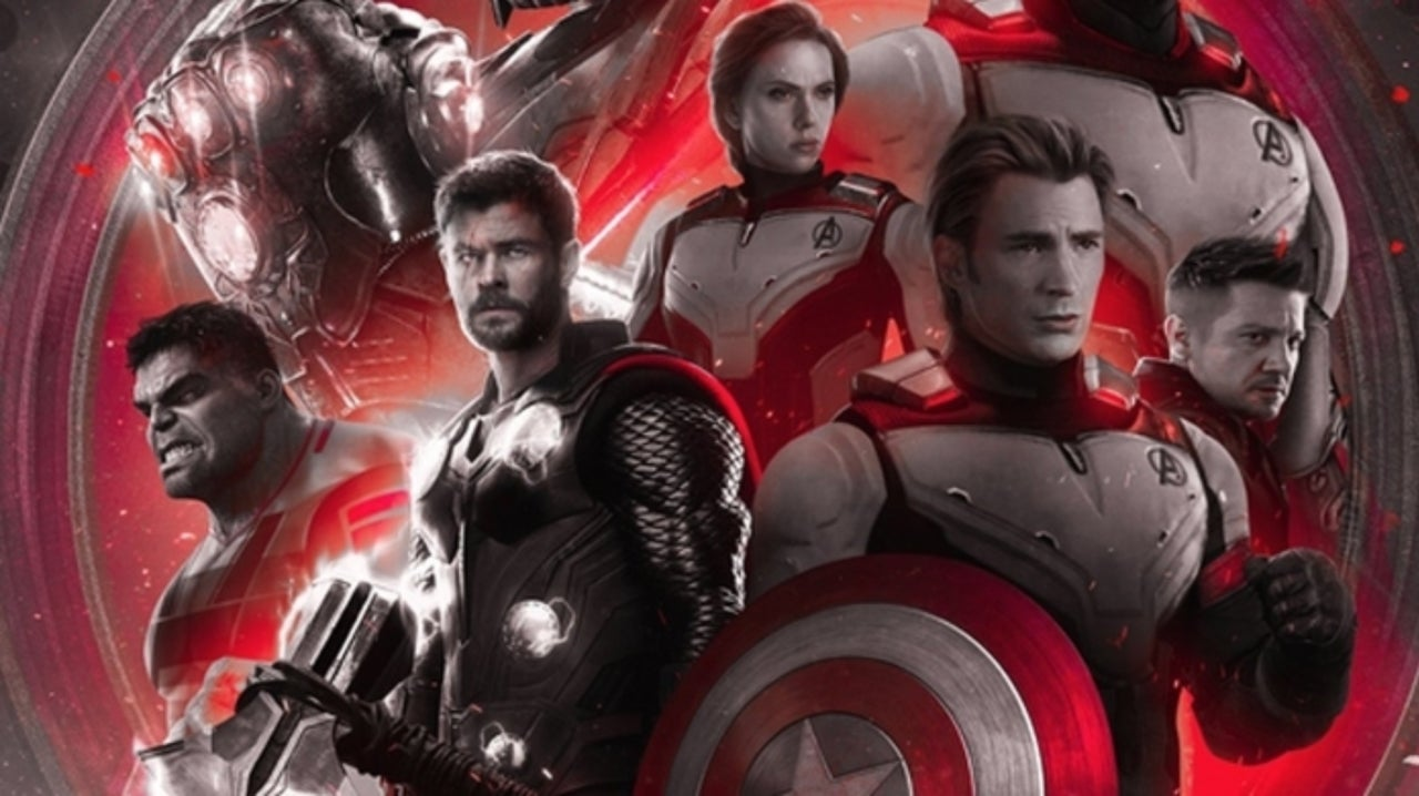 Poster Red Avengers Endgame Poster Showcases Heroes In Their New Suits