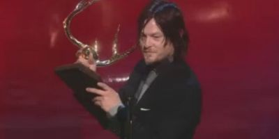 Watch Norman Reedus Accept Guys Choice Award