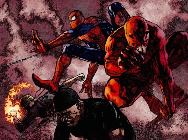 Red Devil Hd Wallpaper Great Moments From Great Comics Brian Michael Bendis Alex