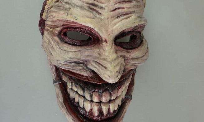 Wallpaper One Piece New World 3d Creepy Joker Mask Created With 3d Printer
