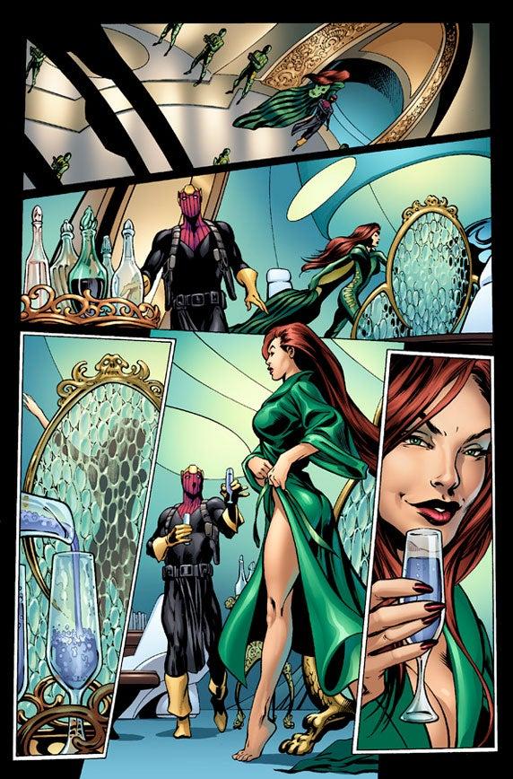 Marvel Power Girl Wallpaper Marvel Preview Captain America 6 By Ed Brubaker And Alan