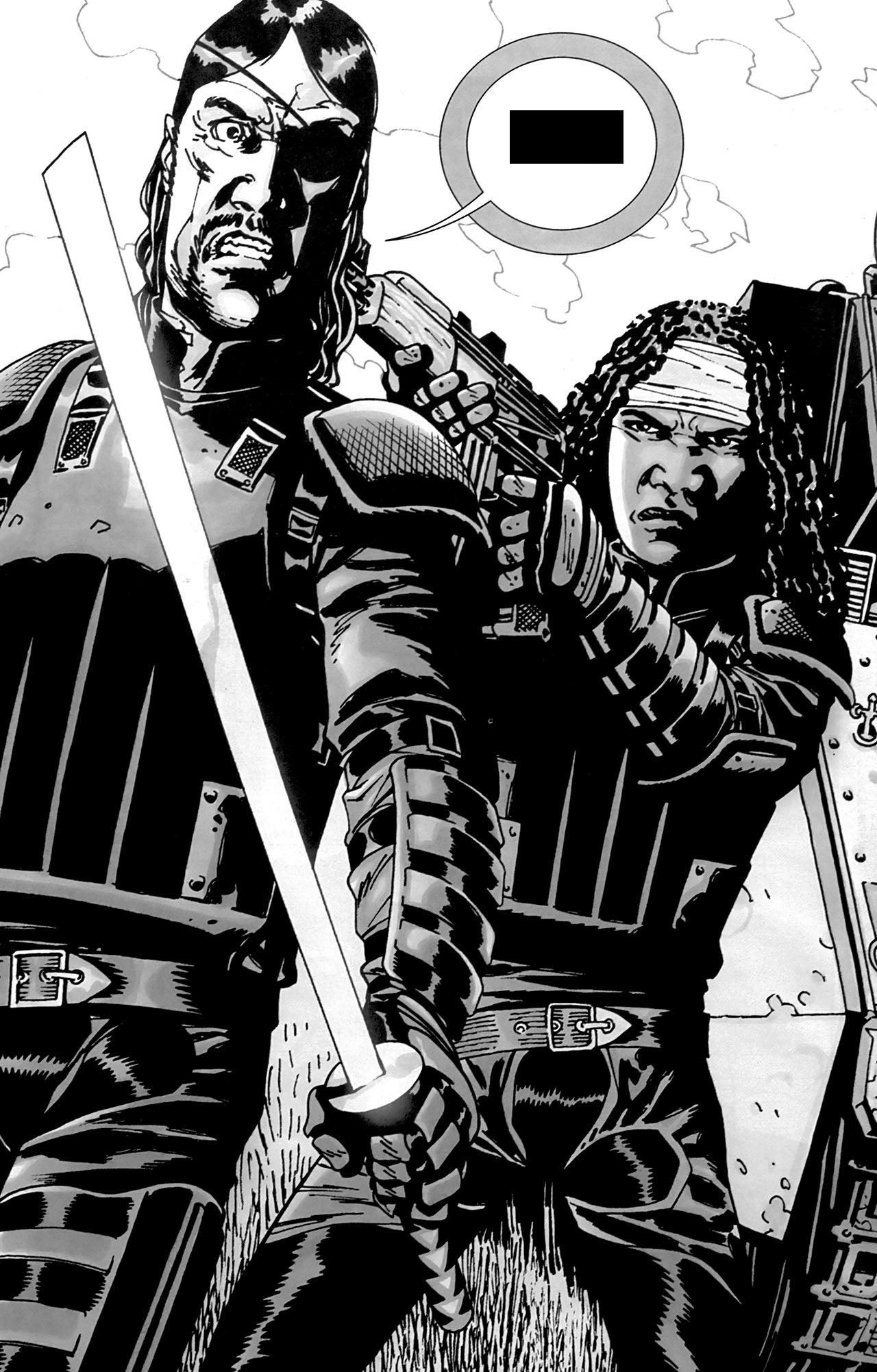 Walking Dead Comic Governor