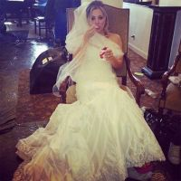 The Big Bang Theory's Kaley Cuoco Shows Off Her Wedding Dress