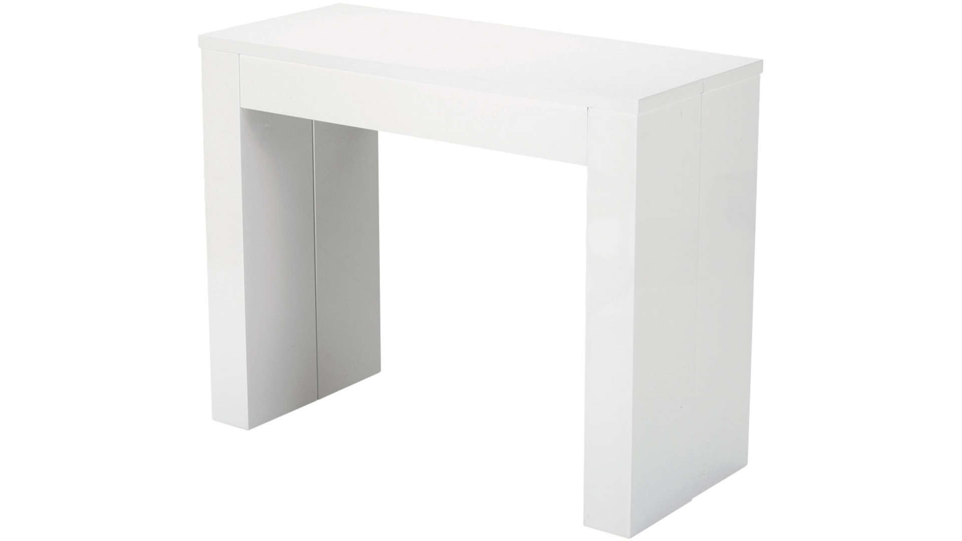 Console Blanche Fly Console Extensible Conforama Blanche Table De Lit
