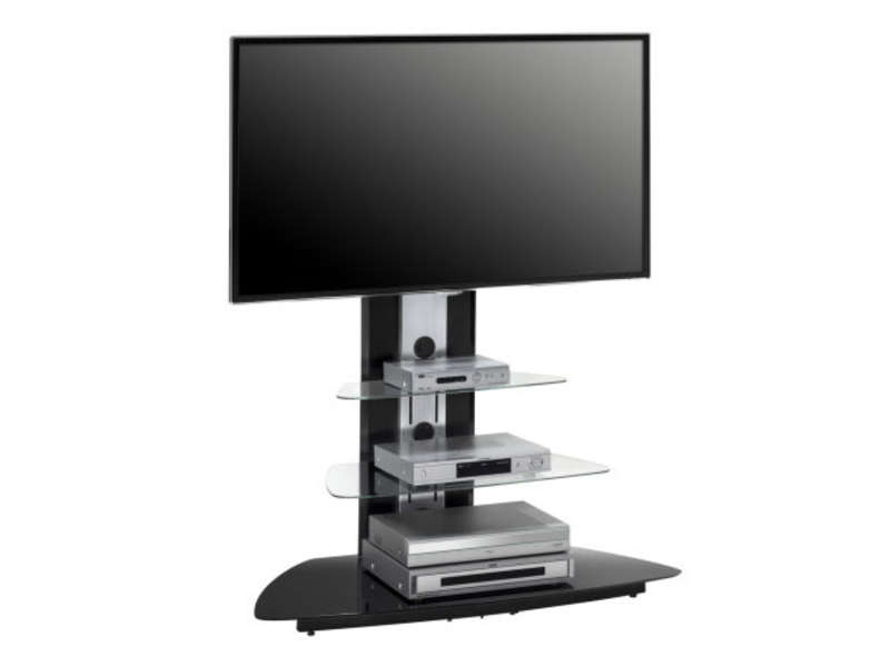 Meuble Tv Support Pivotant Meuble Tv 110 Cm - Vente De Meuble Tv - Conforama