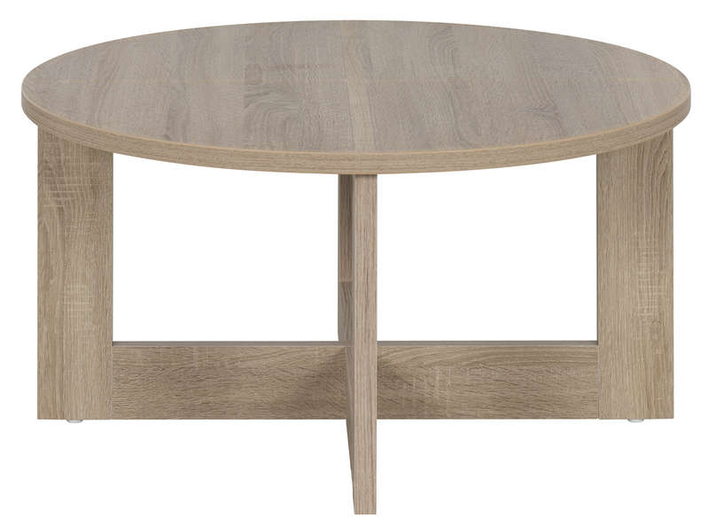 Table Basse Et Chaises Table Basse Ronde Tika Coloris Naturel - Vente De Table Et