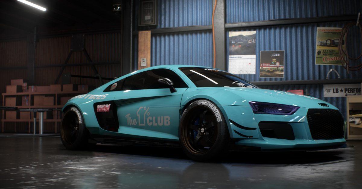 Neon Car Theme Wallpaper Audi R8 V10 Plus Projet De La Semaine Need For Speed