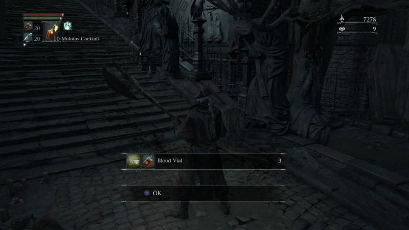 Bloodborne sent to chest