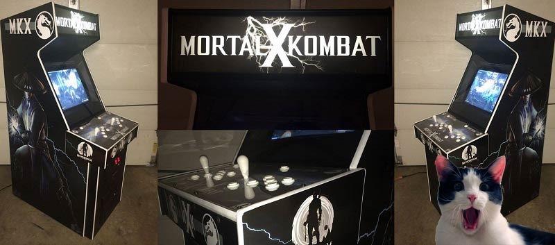 Mortal Kombat X arcade
