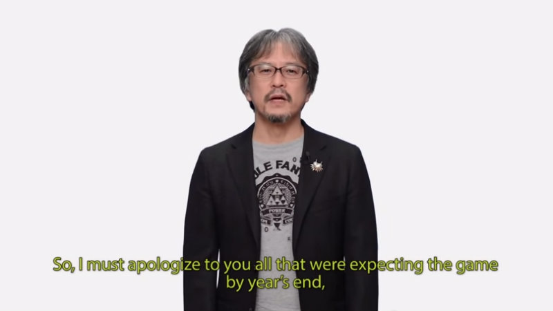 Zelda delay
