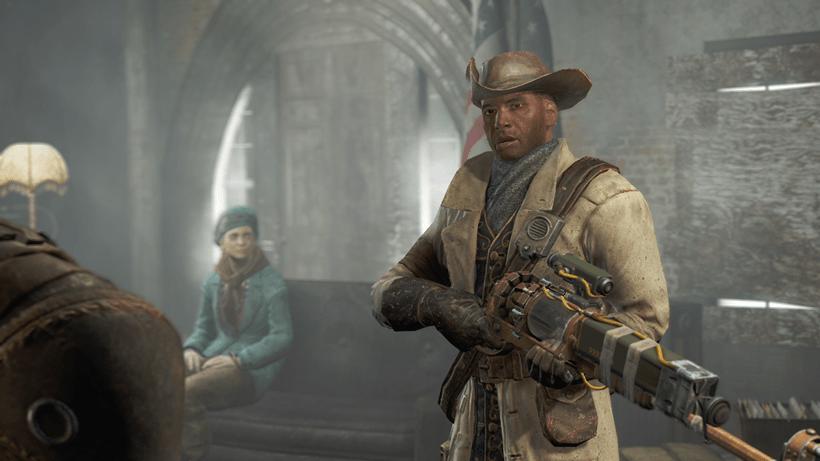 Preston Garvey in Fallout 4