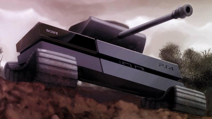 PS4 console war