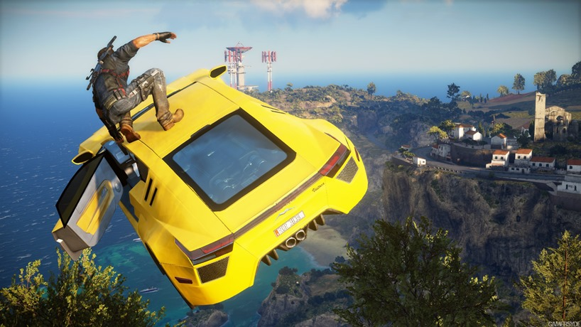 Just Cause 3 aiming for console mods
