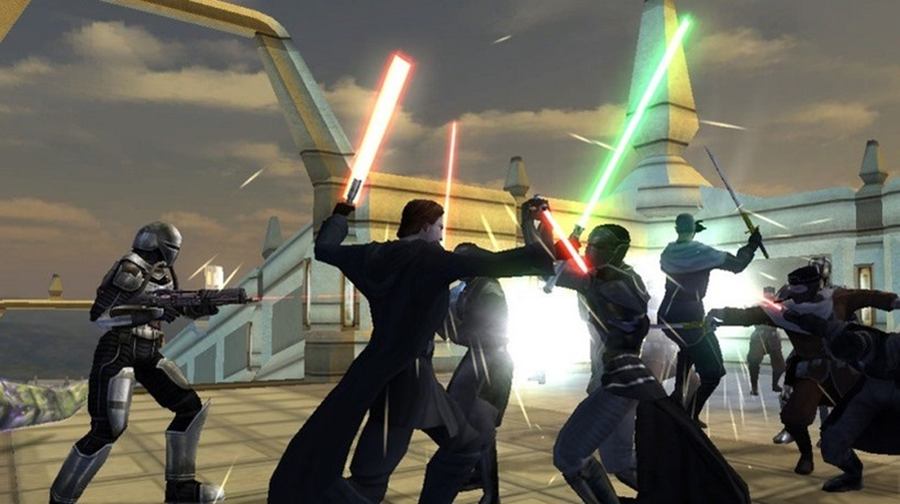 Knights of the Old republic II recieves massive update
