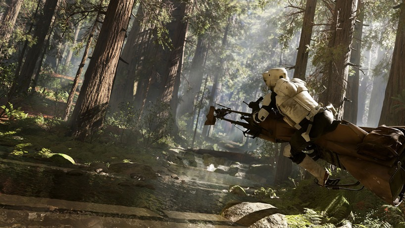 Star Wars Battlefront vehicles and weapons leaked