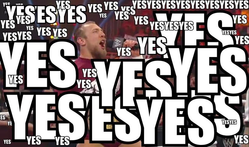 WWE 2K16 Yes