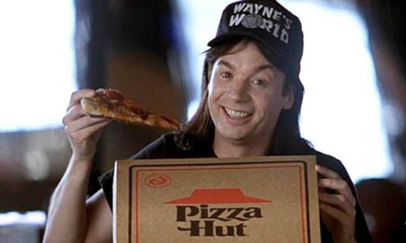Wayne s world product placement