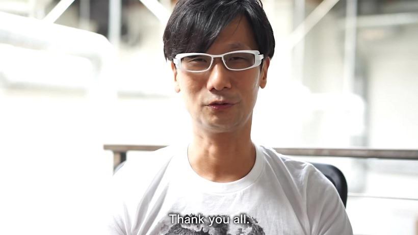Hideo Kojima Metal Gear Farewell