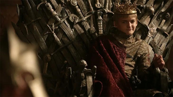 Now the second most hated King.
