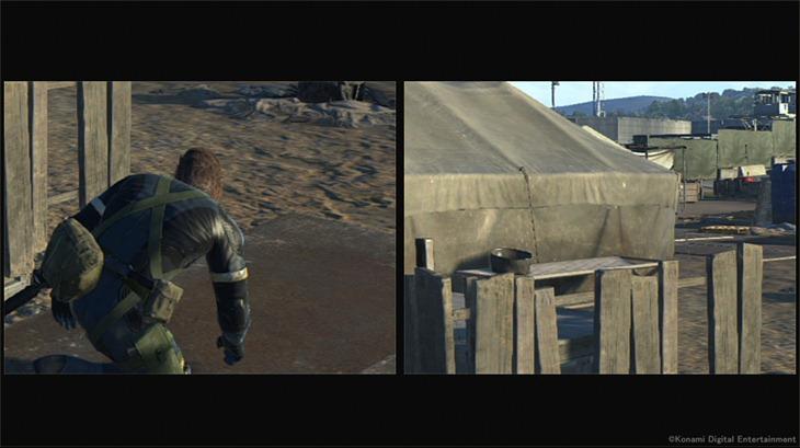 MGS Xbox 360 zoom