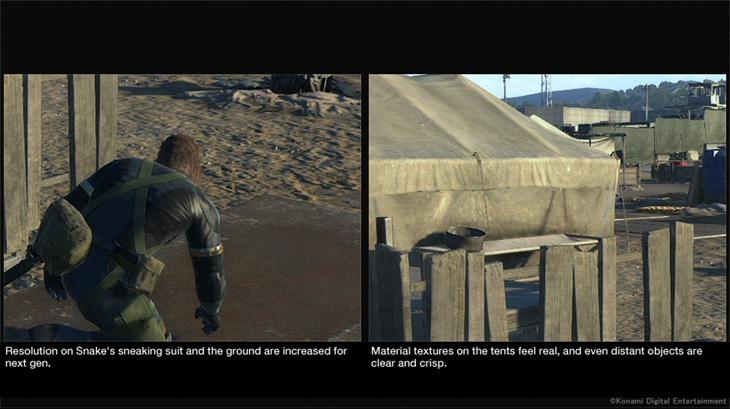 MGS Xbox One zoom