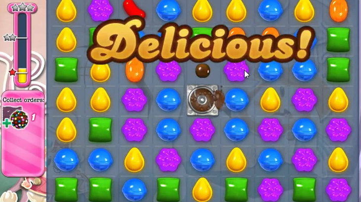 Candy crush delicious