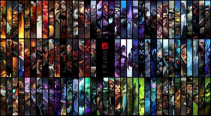 Dota2 heroes artwork hd wallpaper by masdhika d6vguep