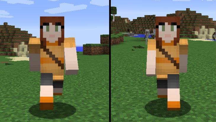 Minecraft arms