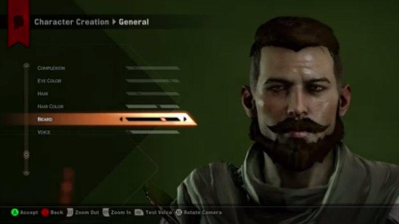 Dragon Age beard