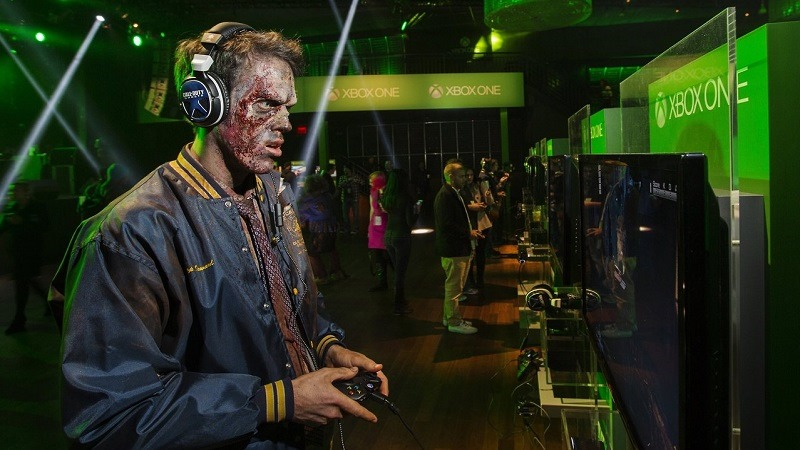 Zombie at an event