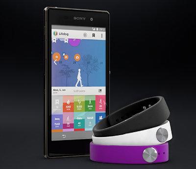 Smartband lifelog
