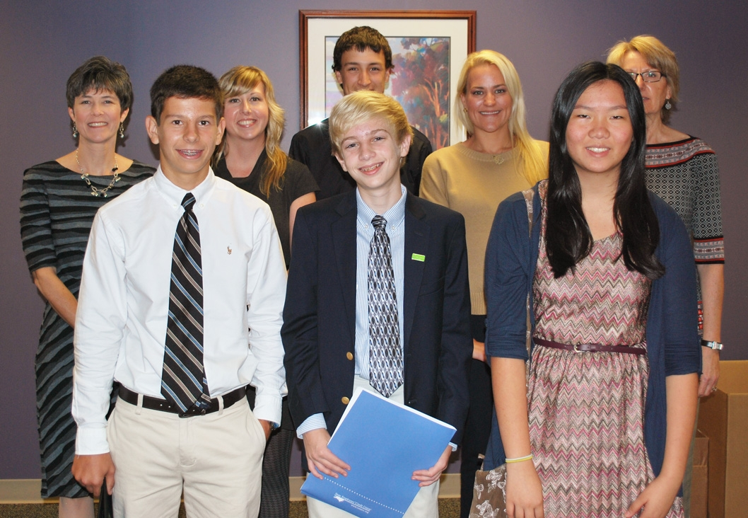 SECU Hosts Sanderson High School Students Through Job Shadowing - high school job shadowing