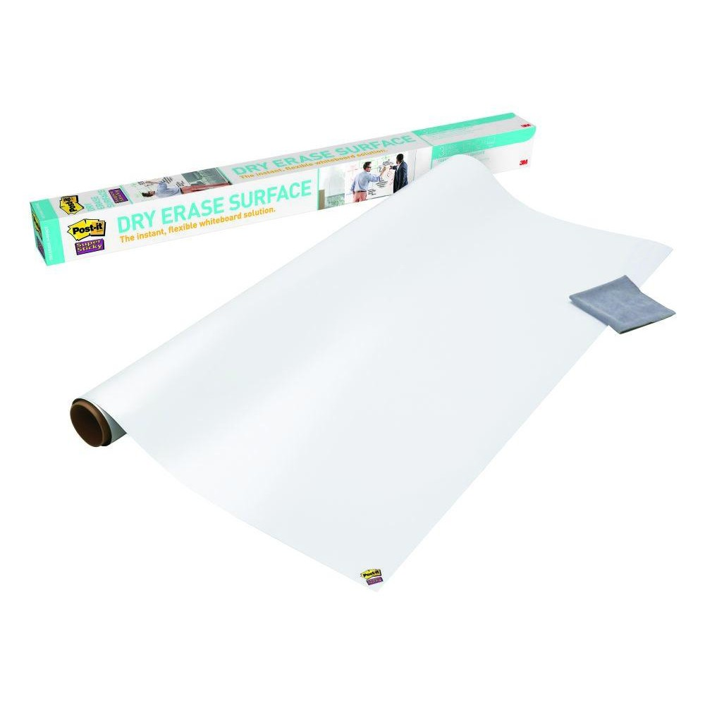 Tableau Velleda Tableau Blanc En Rouleau Super Sticky Post It 60 9 X 91 4 Cm