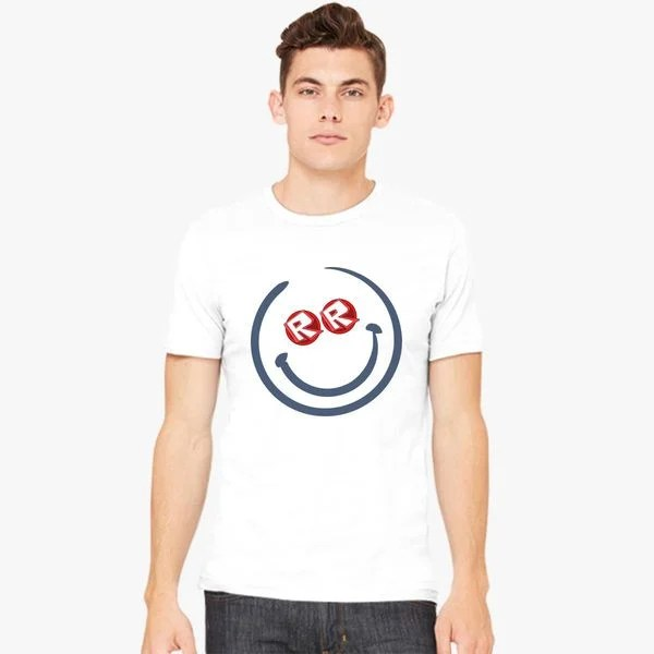 Roblox Smile Face Men\u0027s T-shirt - Customon