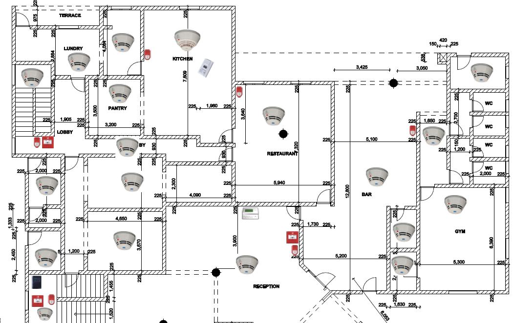 intrusion detection system wiring diagram
